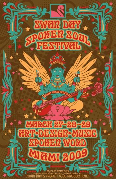 POSTER_ByIvetteOrtiz_SpokenSoulFestival2009