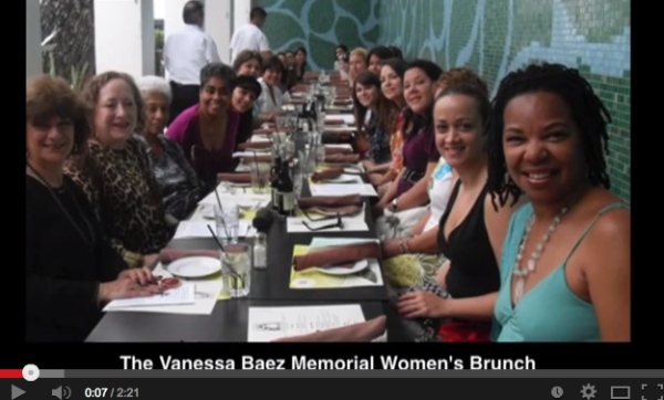 The Vanessa Baez Memorial Brunch - Ten Year Reflection
