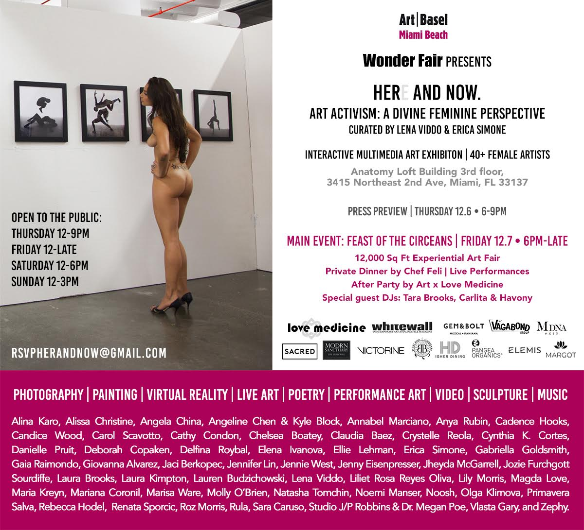 Here and Now Flyer