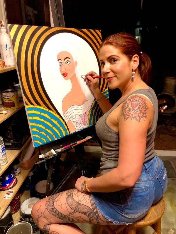 Cheri Vice Painting